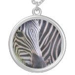 Striped Zebra Necklace
