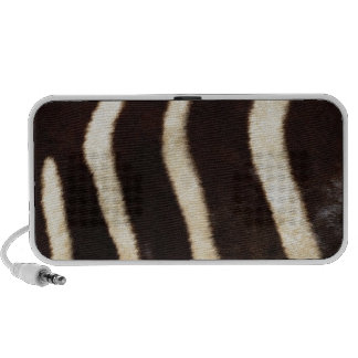 Striped Zebra Skin Speaker System