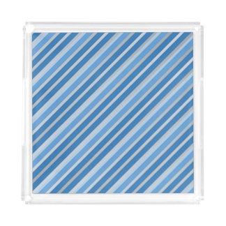 Stripes Acrylic Tray