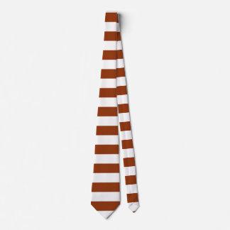 STRIPES adjustable brown Tie