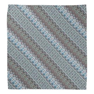 Stripes and Chevron Patterned Bandana