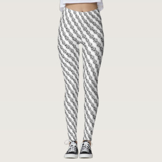 Stripes and Dots Leggings
