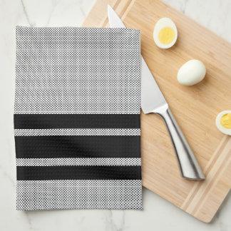Stripes and Polka Dots Tea Towel