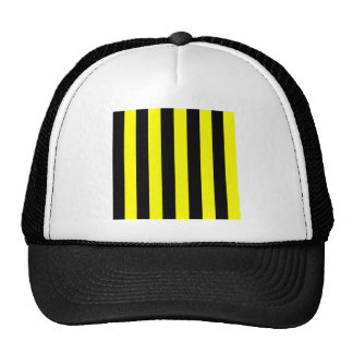 Stripes - Black and Yellow Hats
