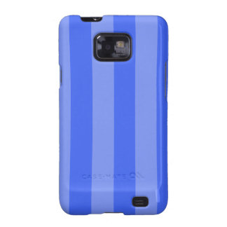 Stripes - Blue and Light Blue Samsung Galaxy SII Covers