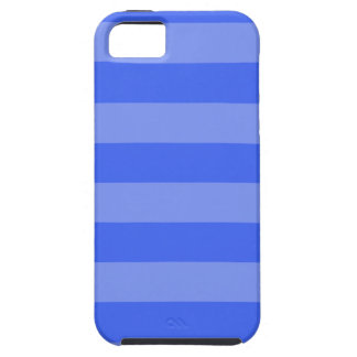 Stripes - Blue and Light Blue iPhone 5/5S Covers