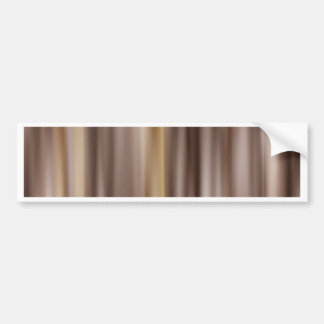 Stripes brown created by Tutti Bumper Sticker