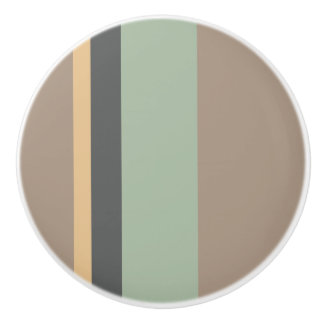 STRIPES CERAMIC KNOB