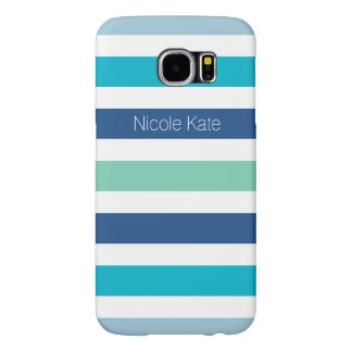 stripes cool colors blue samsung galaxy s6 cases