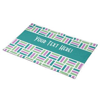 Stripes custom placemat
