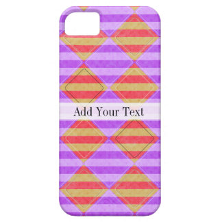 Stripes, Diamonds, Spot Pattern by Shirley Taylor iPhone 5 Cases