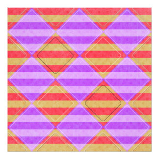 Stripes, Diamonds, Spotted Pattern Photograph