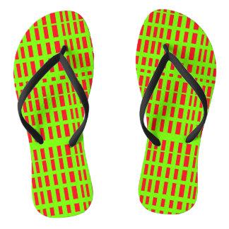Stripes Flip Flops