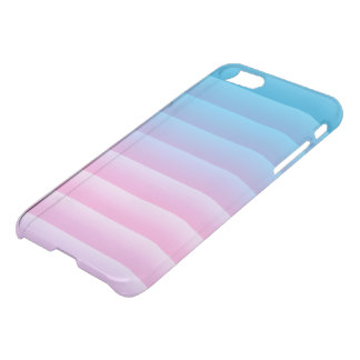 Stripes Gradient Pastel Colors, Pink - Turquoise iPhone 8/7 Case
