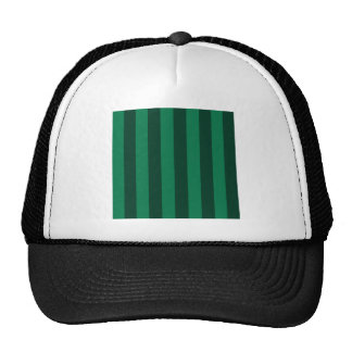 Stripes - Green and Dark Green Trucker Hat