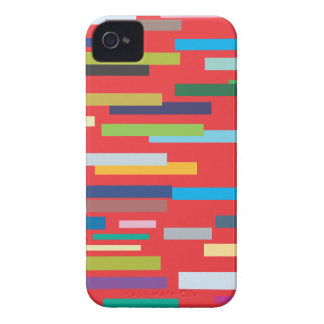Stripes in Colour iPhone 4/4S Barely There iPhone 4 Cover