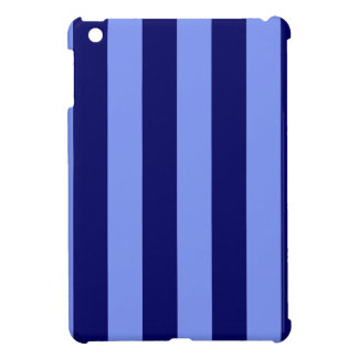 Stripes - Light Blue and Dark Blue Case For The iPad Mini