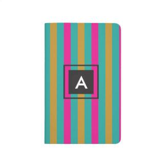 Stripes Monogram Journal