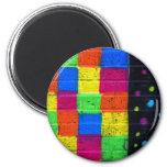 Stripes n Spots Magnet