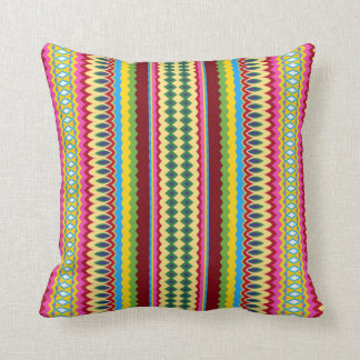 Stripes n Swirls Cushion