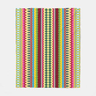 Stripes n Swirls Fleece Blanket