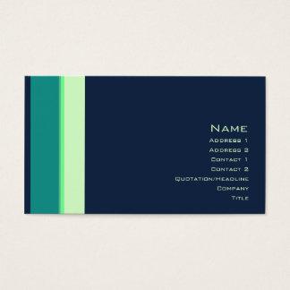 Stripes No. 0161 Business Card