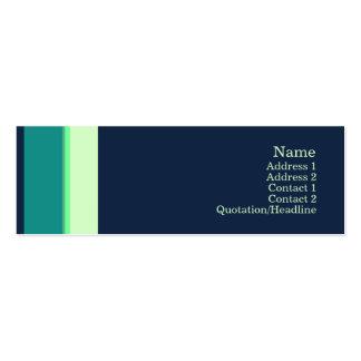 Stripes No. 0161 Business Card Templates