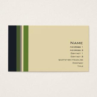 Stripes No. 0164 Business Card
