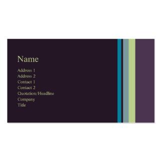 Stripes No. 0168 Business Card