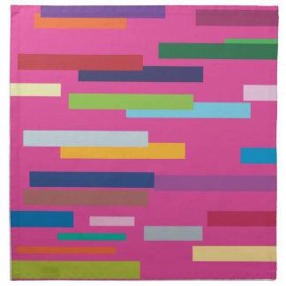Stripes of Color American Mojo Napkins