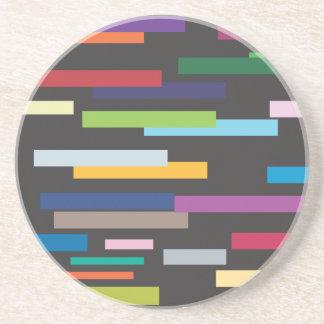 Stripes of Colour Coaster
