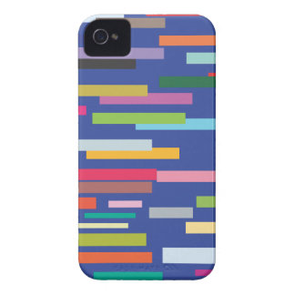 Stripes of Colour iPhone 4/4S Barely There Case