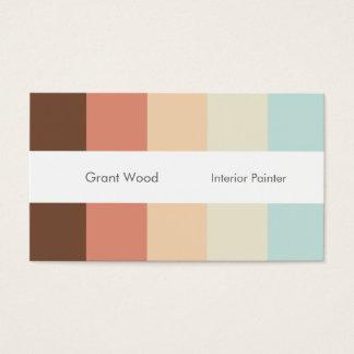 Stripes Palette Business Card