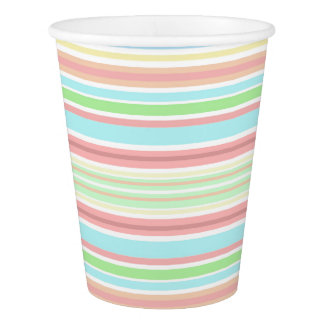 """""""Stripes"""" Paper Cup, 266 ml Paper Cup"""