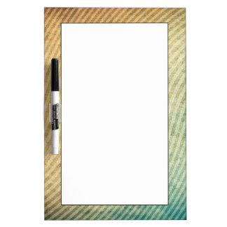 Stripes pattern background dry erase board