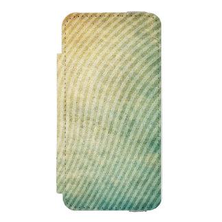 Stripes pattern background incipio watson™ iPhone 5 wallet case