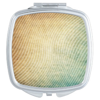 Stripes pattern background mirrors for makeup