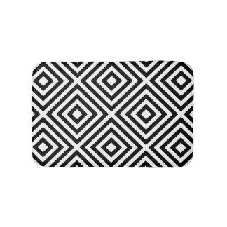 Stripes Pattern Bath Mat