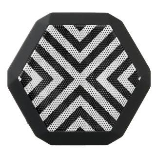 Stripes Pattern Black Bluetooth Speaker