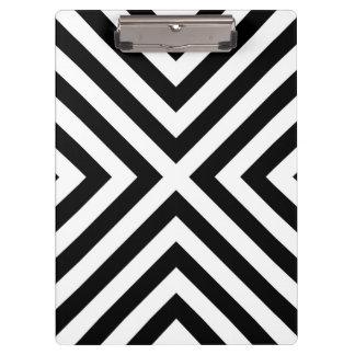 Stripes Pattern Clipboard