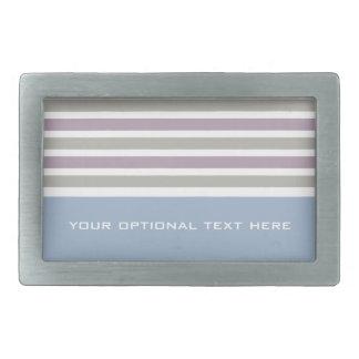 Stripes Pattern custom belt buckle