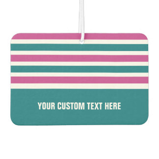 Stripes Pattern custom car air freshner