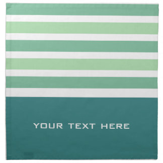 Stripes Pattern custom cloth napkins