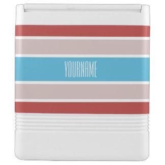 Stripes Pattern custom cooler Igloo Cool Box