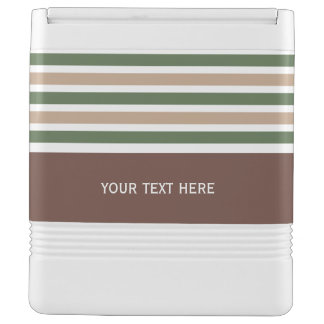 Stripes Pattern custom coolers Igloo Cool Box