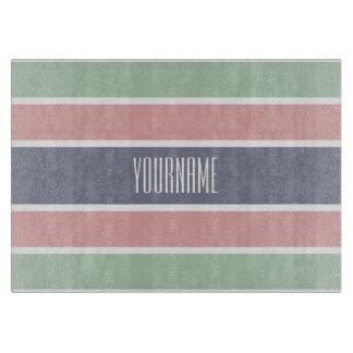 Stripes Pattern custom cutting boards