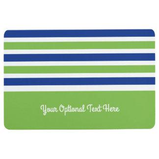 Stripes Pattern custom floor mats