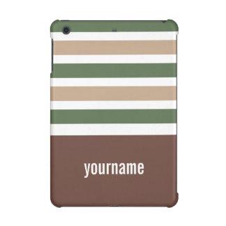 Stripes Pattern custom monogram cases