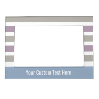 Stripes Pattern custom picture frame