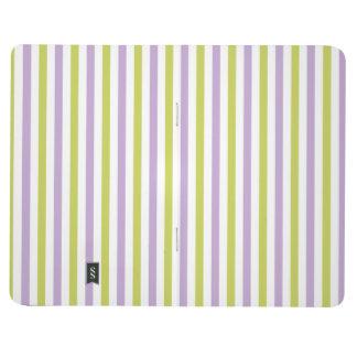 Stripes Pattern custom pocket journal